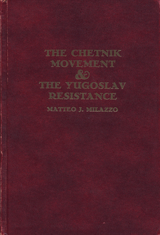 Cover image for The Chetnik movement & the Yugoslav resistance