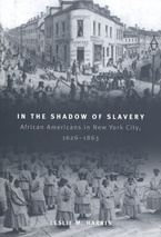 Cover image for In the shadow of slavery: African Americans in New York City, 1626-1863