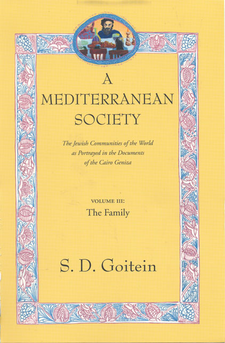 Cover image for A Mediterranean society: the Jewish communities of the Arab world as portrayed in the documents of the Cairo Geniza, Vol. 3