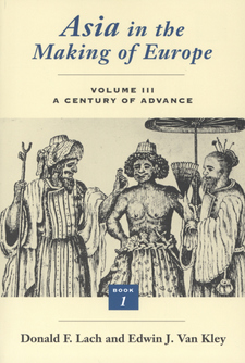 Cover image for Asia in the making of Europe, Vol. 3, Book 1