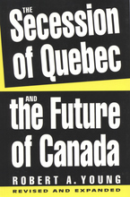 Cover image for The secession of Quebec and the future of Canada