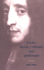 Cover image for Locke, literary criticism, and philosophy