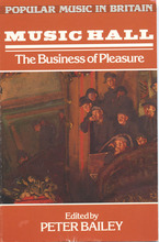 Cover image for Music hall: the business of pleasure