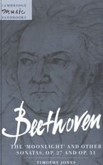 Cover image for Beethoven, the Moonlight and other sonatas, op. 27 and op. 31