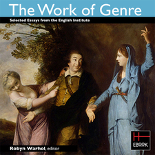 Cover for The work of genre: selected essays from the English Institute