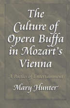Cover image for The culture of opera buffa in Mozart's Vienna: a poetics of entertainment