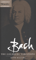 Cover image for Bach, the Goldberg variations