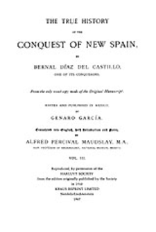 Cover image for The conquest of New Spain, Vol. 3