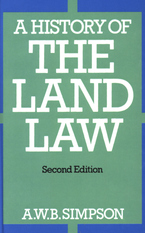 Cover image for A history of the land law
