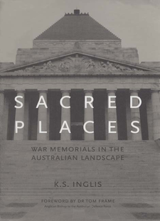 Cover image for Sacred places: war memorials in the Australian landscape