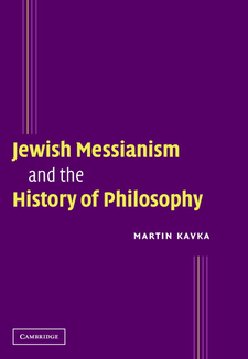 Cover image for Jewish messianism and the history of philosophy