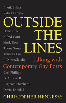 Cover image for Outside the Lines: Talking with Contemporary Gay Poets