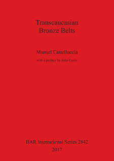 Cover image for Transcaucasian Bronze Belts