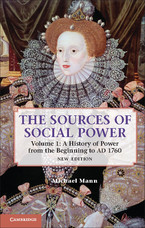 Cover image for The sources of social power, Vol. 1