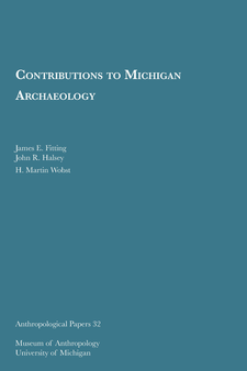 Cover image for Contributions to Michigan Archaeology