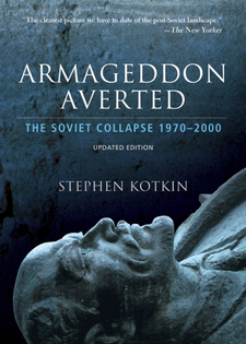 Cover image for Armageddon averted: the Soviet collapse, 1970-2000