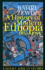 Cover image for A history of modern Ethiopia, 1855-1991