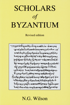 Cover image for Scholars of Byzantium