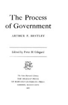 Cover image for The process of government