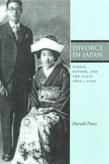 Cover image for Divorce in Japan: family, gender, and the state, 1600-2000