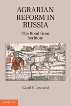 Cover image for Agrarian reform in Russia: the road from serfdom
