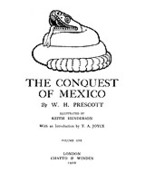 Cover image for Conquest of Mexico, Vol. 1