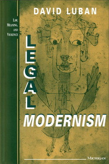 Cover image for Legal Modernism