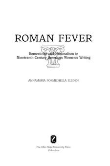 roman fever full text