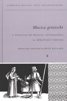 Cover image for Musica getutscht: a treatise on musical instruments (1511)