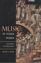 Cover image for Music in other words: Victorian conversations