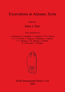 Cover image for Excavations at Arjourne, Syria