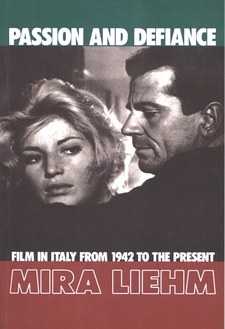 Cover image for Passion and defiance: film in Italy from 1942 to the present