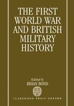 Cover image for The First World War and British military history