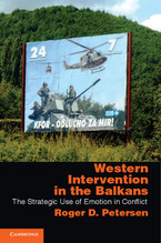Cover image for Western intervention in the Balkans: the strategic use of emotion in conflict