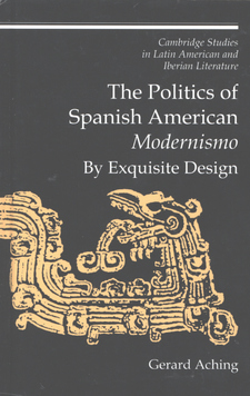 Cover for The politics of Spanish American modernismo: by exquisite design