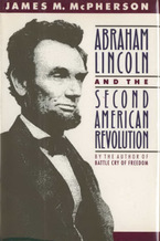 Cover image for Abraham Lincoln and the second American Revolution