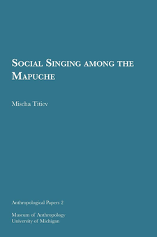 Cover image for Social Singing among the Mapuche