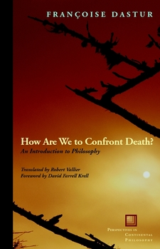 Cover image for How are we to confront death?: an introduction to philosophy