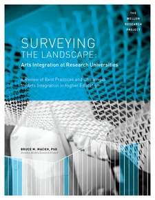 Cover image for Surveying the Landscape: Arts Integration at Research Universities