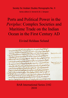 Cover image for Ports and Political Power in the Periplus: Complex Societies and Maritime Trade on the Indian Ocean in the First Century AD