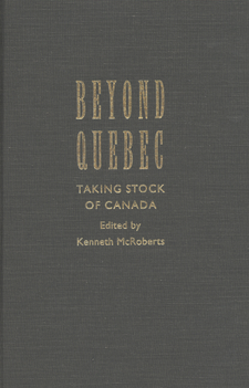 Cover image for Beyond Quebec: taking stock of Canada