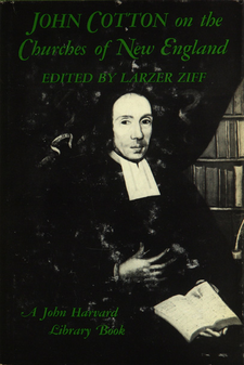 Cover image for John Cotton on the churches of New England