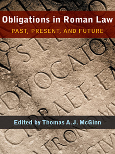 Cover image for Obligations in Roman Law: Past, Present, and Future