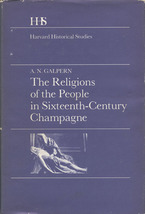 Cover image for The religions of the people in sixteenth-century Champagne