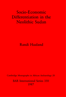 Cover image for Socio-Economic Differentiation in the Neolithic Sudan
