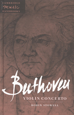 Cover image for Beethoven, Violin concerto