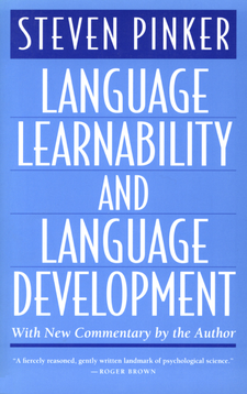 Cover image for Language learnability and language development