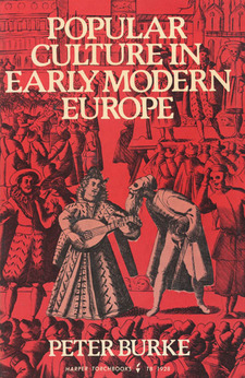 Cover for Popular culture in early modern Europe