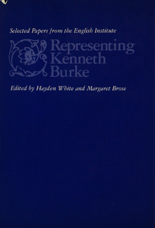 Cover image for Representing Kenneth Burke
