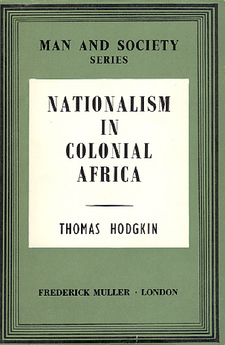 Cover for Nationalism in colonial Africa